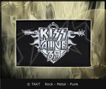 Nášivka Kiss - alive 35