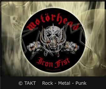 Nášivka kulatá Motorhead - Iron Fist
