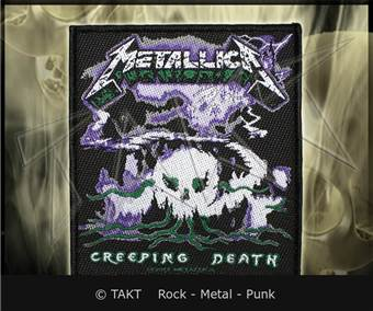 Nášivka Metallica - creeping Death