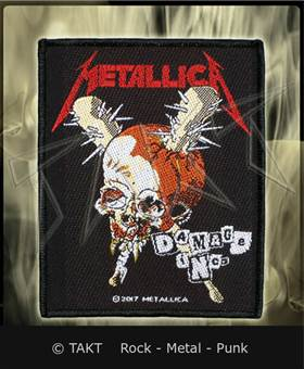 Nášivka Metallica - damage Inc.