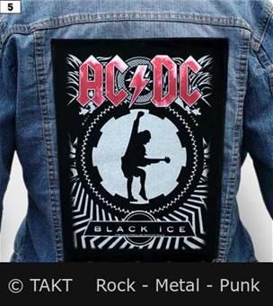 Nášivka na bundu AC/DC - Black Ice