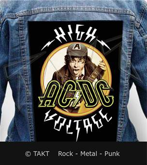 Nášivka na bundu Ac/dc - high Voltage