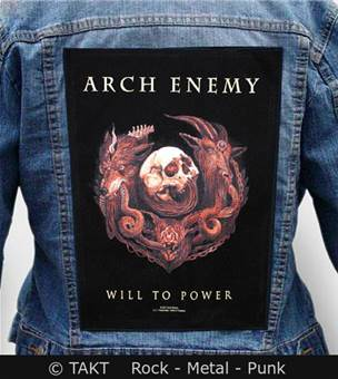 Nášivka na bundu Arch Enemy - will To Power