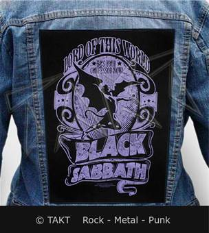Nášivka na bundu Black Sabbath - lord Of This World