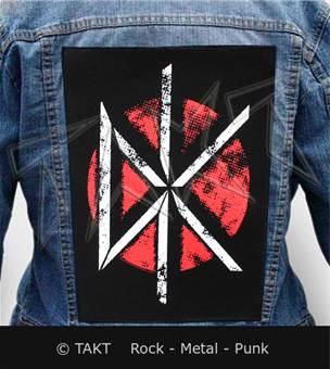 Nášivka na bundu Dead Kennedys - vintage Dk Logo
