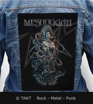 Nášivka na bundu Meshuggah - violent Sleep Of Reason