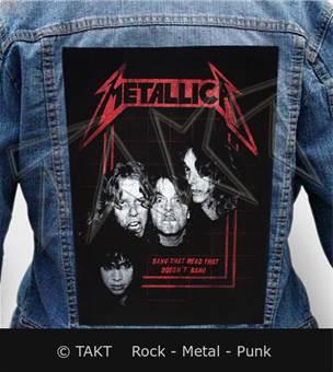 Nášivka na bundu Metallica - bang That Head