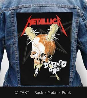 Nášivka na bundu Metallica - damage Inc.