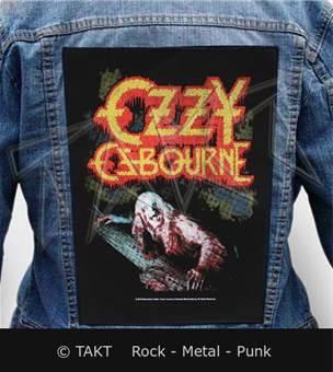 Nášivka na bundu Ozzy Osbourne - blizzard Of Ozz