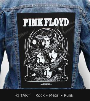 Nášivka na bundu Pink Floyd - cosmic Faces