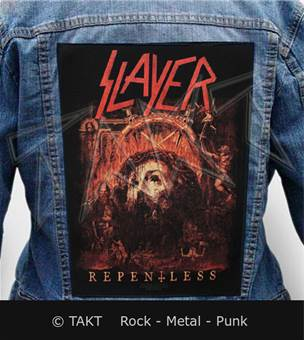 Nášivka na bundu Slayer - repentless