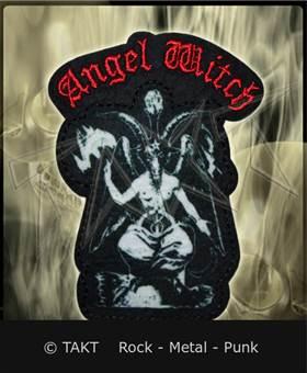 Nášivka - Nažehlovačka Angel Witch - baphomet