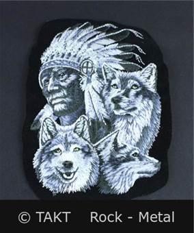 Nášivka - Nažehlovačka Indián