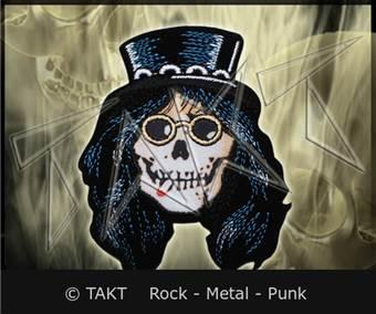 Nášivka - Nažehlovačka Slash Skull
