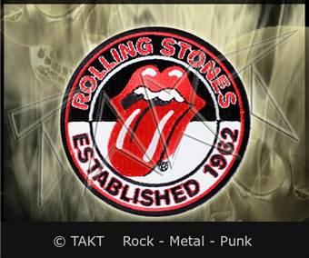 Nášivka - Nažehlovačka The Rolling Stones - Established 1962