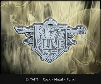 Odznak Kiss - alive 35