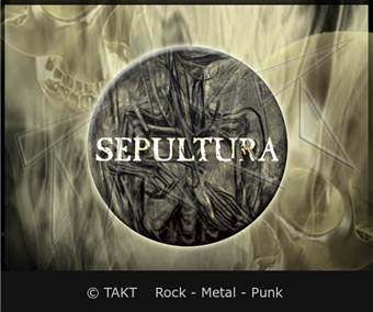 Placka mala Sepultura - the Mediator