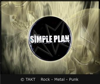 Placka Mala Simple Plan logo 2