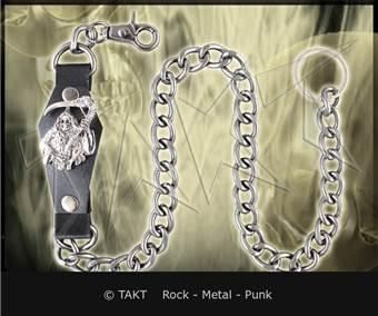 Řetěz na kalhoty hrubý Smrtka