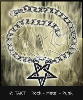 Řetízek hrubý Pentagram 2