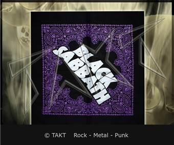 Šátek Black Sabbath - logo
