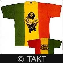 Tričko Bob Marley - Rasta