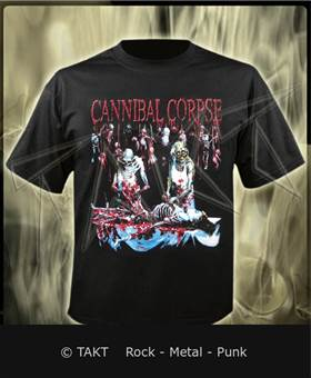 Tričko Cannibal Corpse - butchered At Birth Imp.