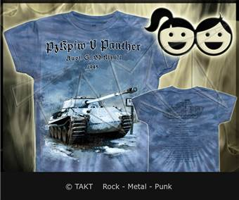 Tričko dětské LEGEND - panther Danzig 1945
