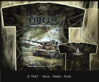 Tričko Legend - tiger I Wittman