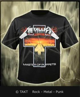 Tričko Metallica - master Of Puppets 4 M All Print Imp.