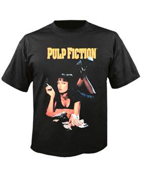 Tričko Pulp Fiction - uma Imp.