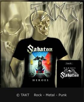 Tričko Sabaton - heroes 3 Czech Republic