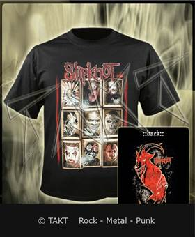 Tričko Slipknot - New Masks