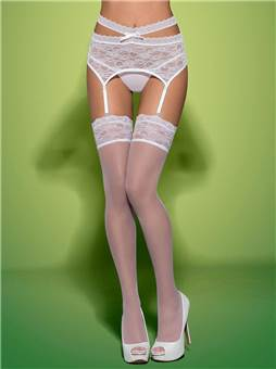 Punčochy Obsessive Swanita stockings
