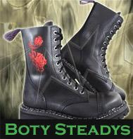 Boty Steadys Růže