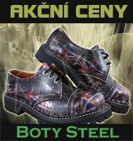 Boty Steel UK 3 dírkové